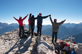 Fototapety Alpinisti