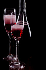 Champagne , rose