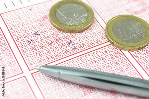 Winning lottery ticket