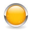 BLANK web button (round orange metallic blank gel)
