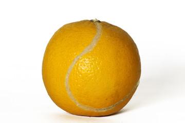 tenis de naranja
