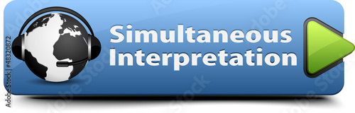 Simultaneous Interpretation button