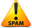 Spam! Hazard sign