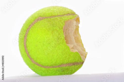 pelota mordida