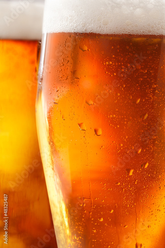 Cold beer background