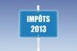 panneau impôts 2013