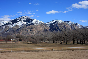 Wasatch front mountains, Ogden