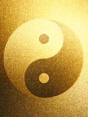 Gold  Yin Yang