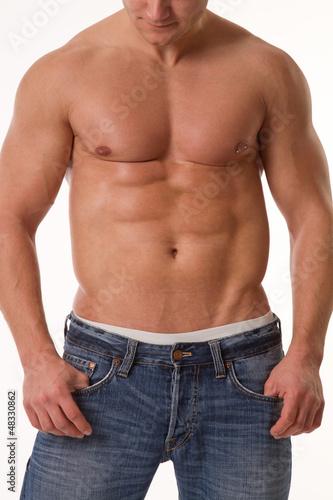 Männerkörper