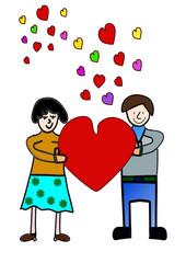 Glück in der Liebe