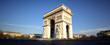 Panoramic view of Arc de Triomphe