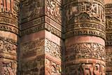 India, arabic verses on facade poster