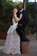 Attractive multiracial marriage