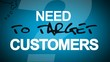 Need to target customers? Marketing success animation