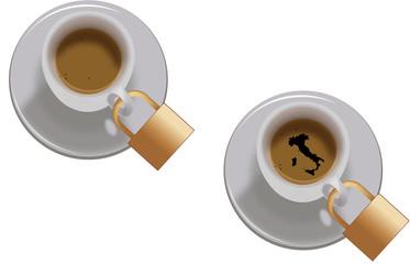 Tazzina.con il caffè