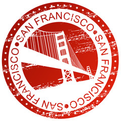 Stamp - San Francisco, USA