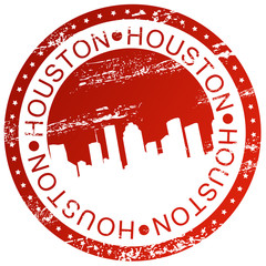 Stamp - Houston, USA