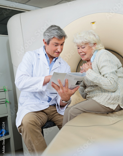 Doctor Explaining Female Patient