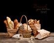 Bread still life