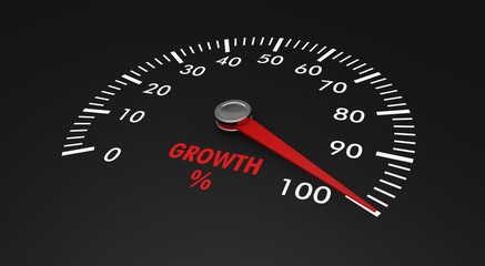 speedometer - growth level
