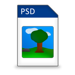 Dateityp Icon PSD