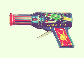 tin space gun