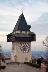 Schlossberg Tower in Graz