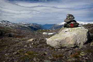 Nationalpark Hardangervidda in Norwegen