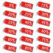 Rabatt Anhänger Prozente Sale