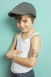 Cooler Junge mit Tattoo