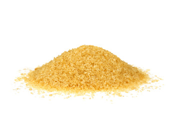Pile of  brown sugar