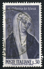 Saint Catherine of Siena by Andrea Vanni