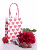 valentine gift and chocolates