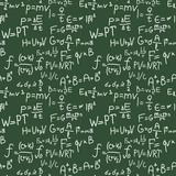 Physics formulas hand writing pattern poster