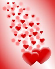 dwa duże serca
