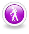 "Violet Icon ""Hiking"""