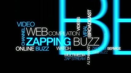 Zapping web buzz clip mots vidéo best of animation