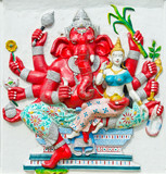 God of success 25 of 32 posture. Indian or Hindu God Ganesha ava