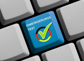 Einbürgerungstest online