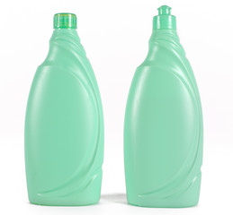 Two cleaning bottles