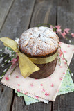 Traditional easter cake, Kulich