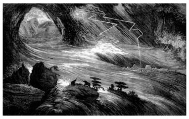 Déluge - Sintflut - Flood