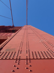 Pylon der Golden Gate Bridge
