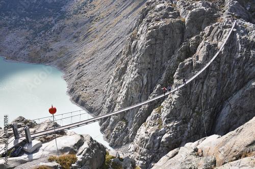 Trift Bridge. Switzerland