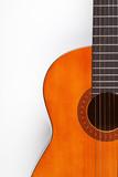 Detail of acoustic guitar