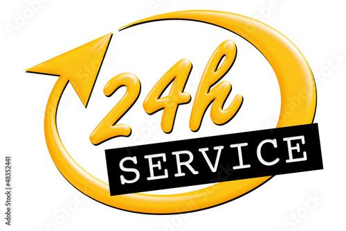 24 Stunden Service