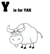 Y Is For Yak Text