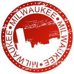 Stamp - Milwaukee, USA