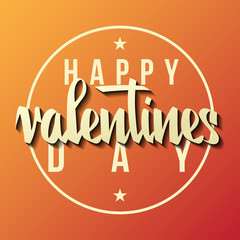 Vector Illustration. Valentines day