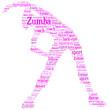 Nuage de Mot Zumba Girl